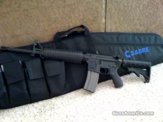 AR15 Sabre Defense M5 Flat Top  with 800 rounds  Guns > Rifles > AR-15 Rifles - Small Manufacturers > Complete Rifle