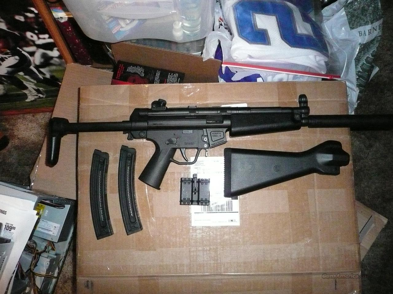 AMERICAN TACTICAL IMPORTS GSG-5 MP5 22LR USED  Guns > Rifles > American Tactical Imports Pistols