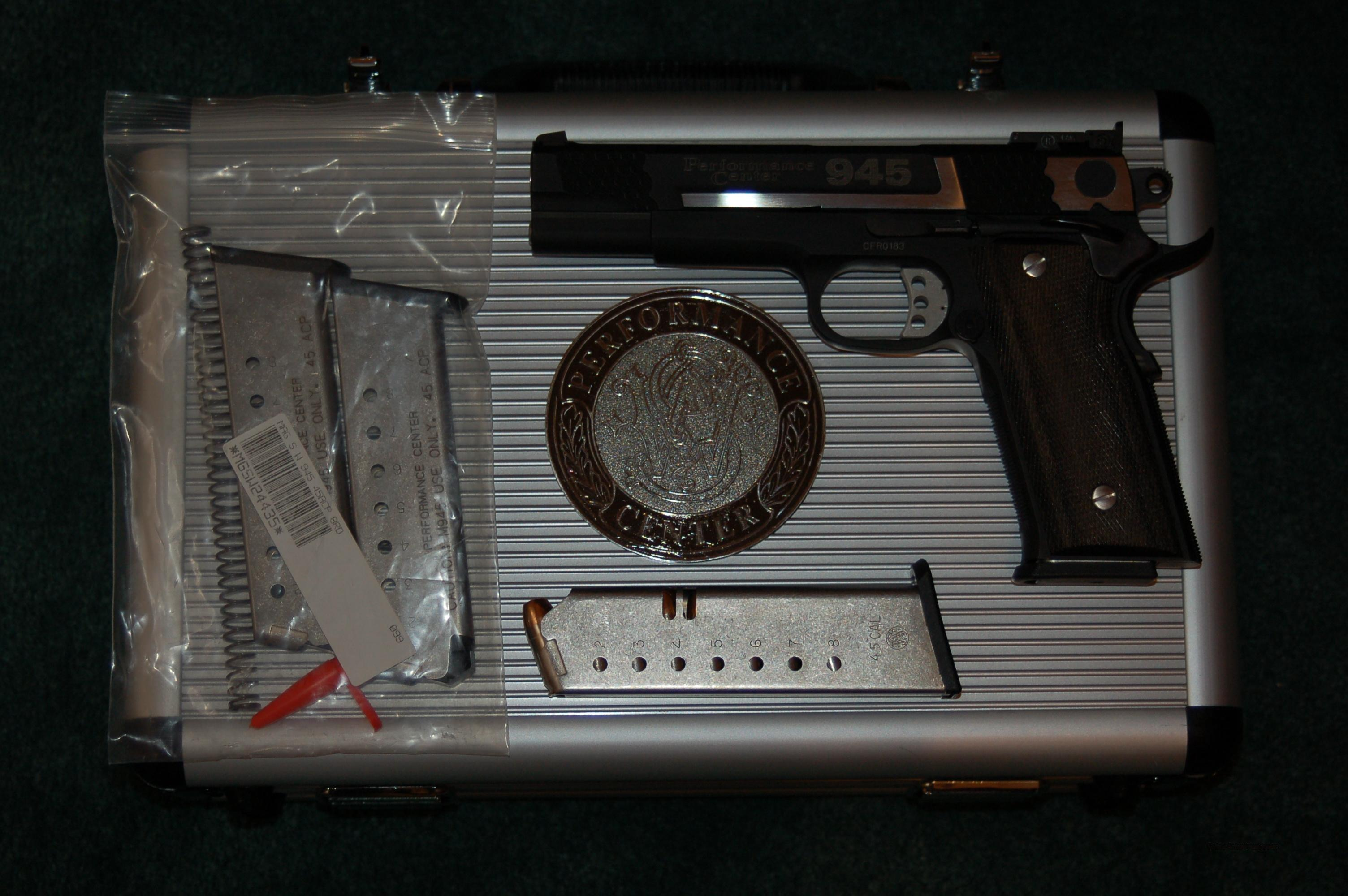S&W 945 Performance Center 1911 45 ACP  Guns > Pistols > Smith & Wesson Pistols - Autos > Steel Frame