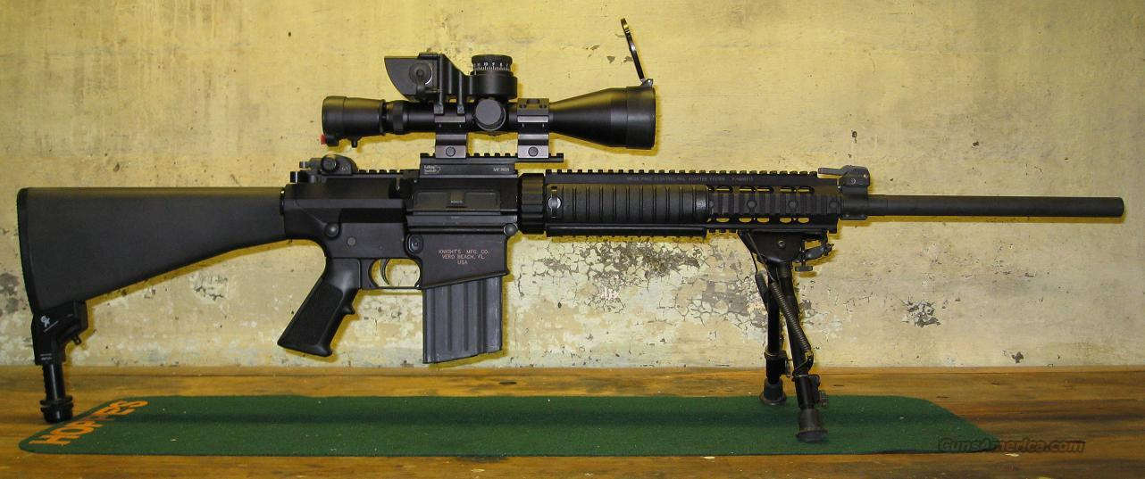 Knight's Armament SR-25  Guns > Rifles > Knight's Manufacturing Rifles