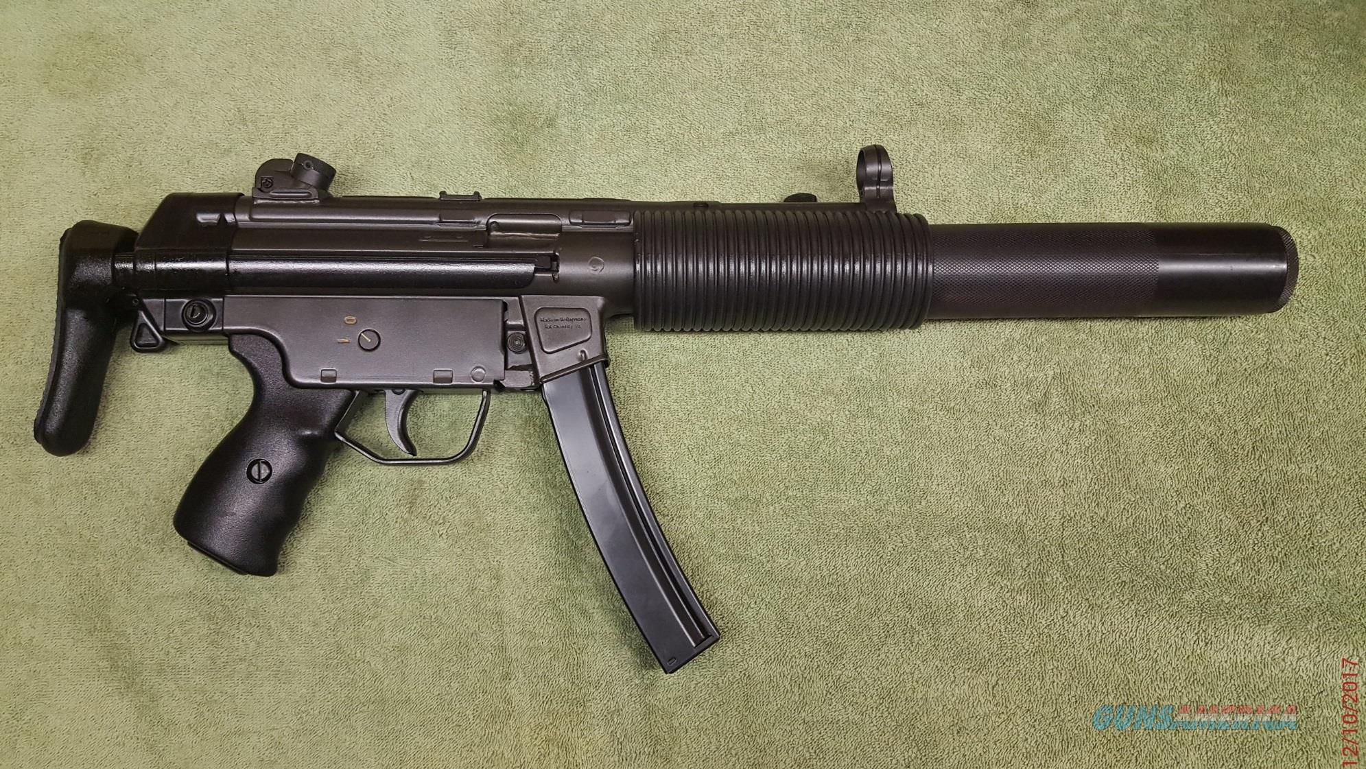 Heckler Koch HK MP5SD-A3 Sub Machine Gun  Guns > Pistols > Class 3 Pistols > Class 3 Subguns
