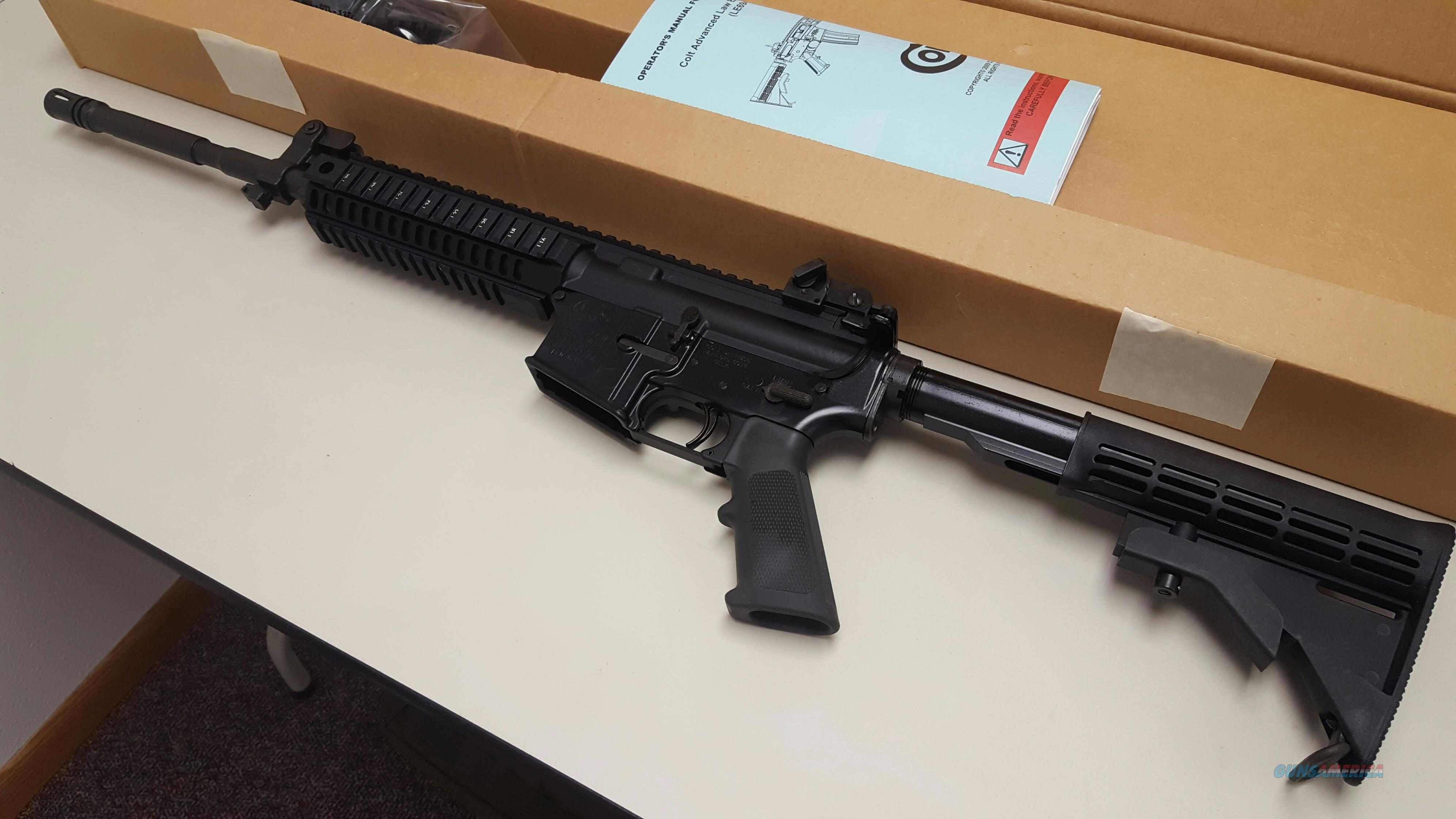 NIB Colt LE 6940 Law Enforcement Carbine - AR 15 .223/5.56 - Restricted Rollmark  Guns > Rifles > Colt Military/Tactical Rifles