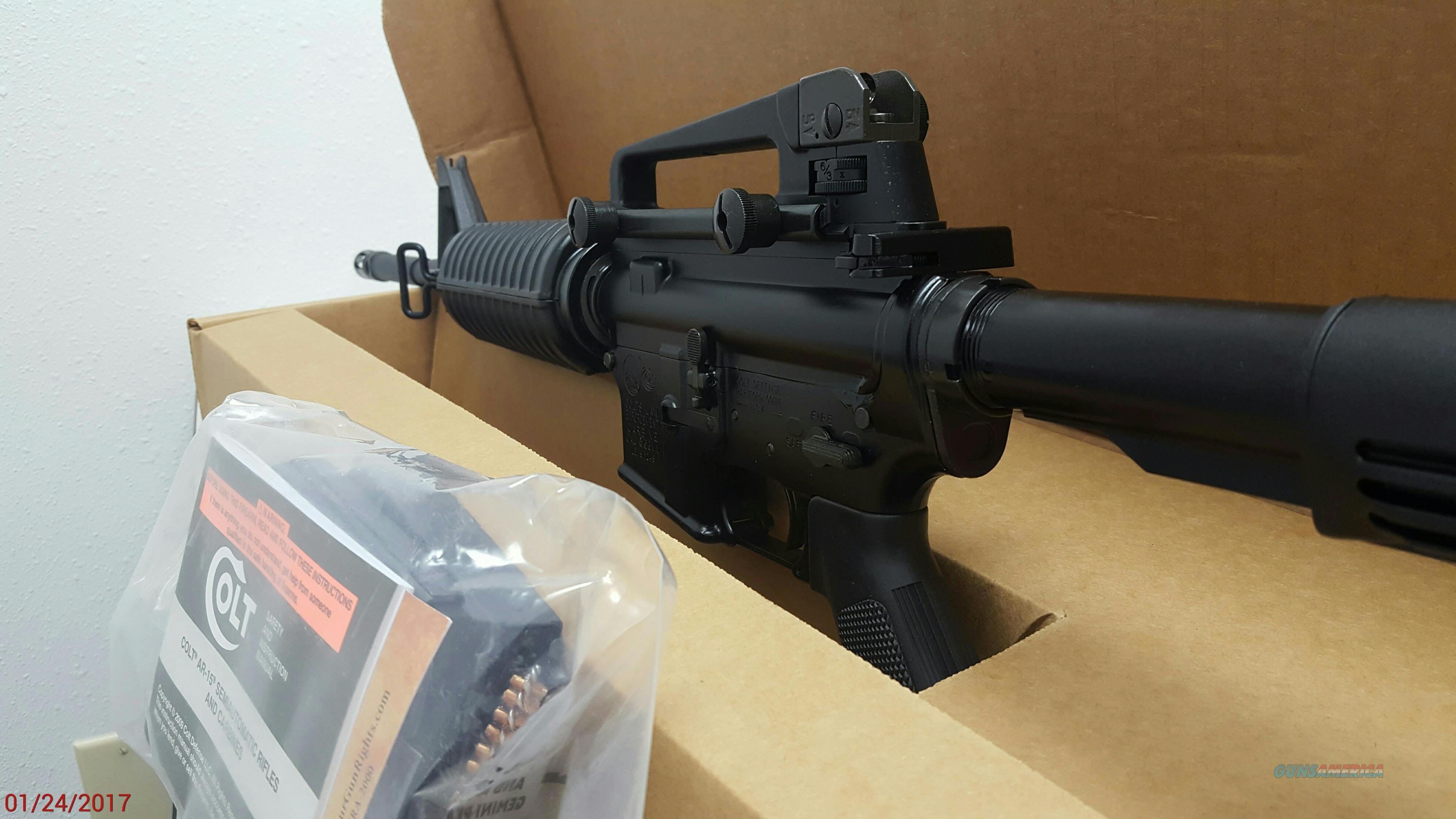 NIB Colt LE 6920 Law Enforcement Carbine - AR 15 .223/5.56 - Restricted Rollmark  Guns > Rifles > Colt Military/Tactical Rifles