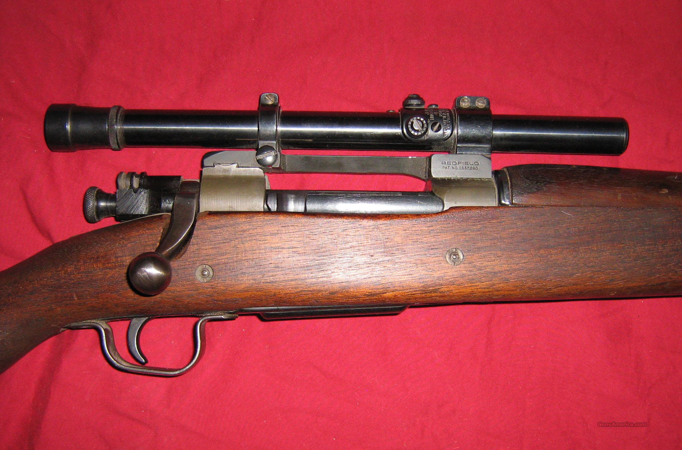 1903 1903a4 1903-A4 Springfield Sniper Rifle COPY  Guns > Rifles > Surplus Rifles & Copies