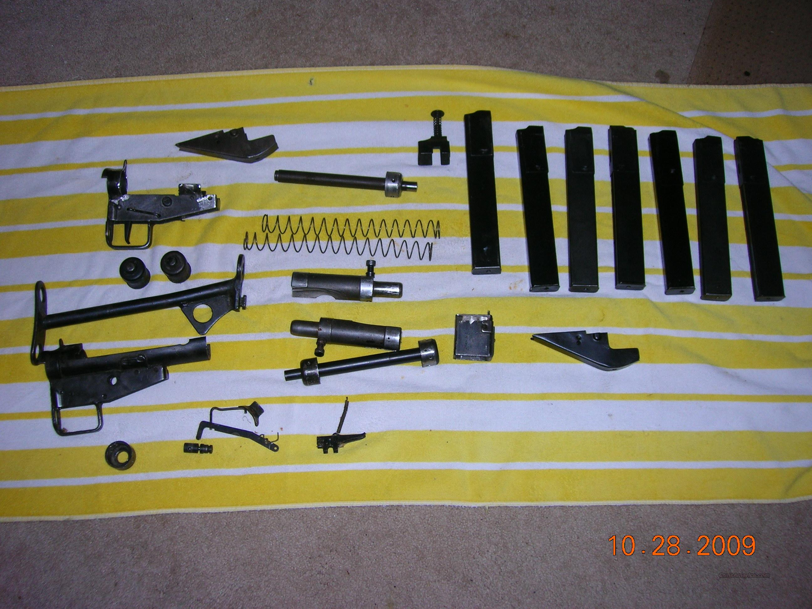 Sten MK III Part Kit and Spare Parts  Non-Guns > Gun Parts > Military - Foreign