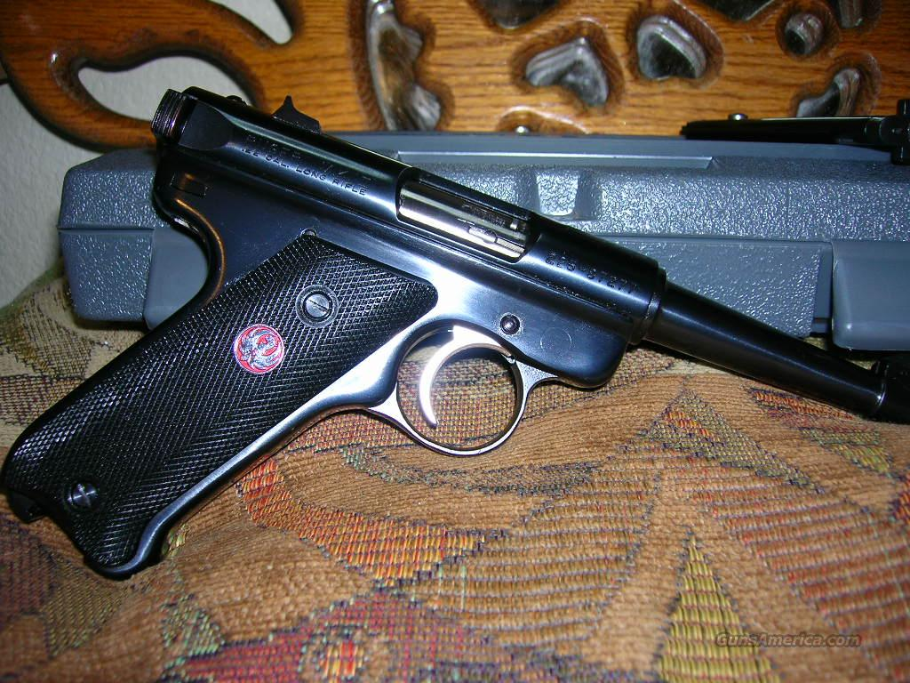 Like New Ruger MK II  Guns > Pistols > Ruger Semi-Auto Pistols > Mark I & II Family