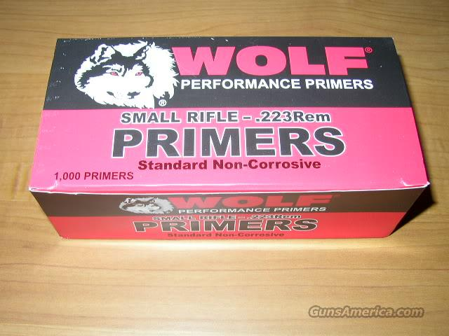 Primers Large Rifle Wolf