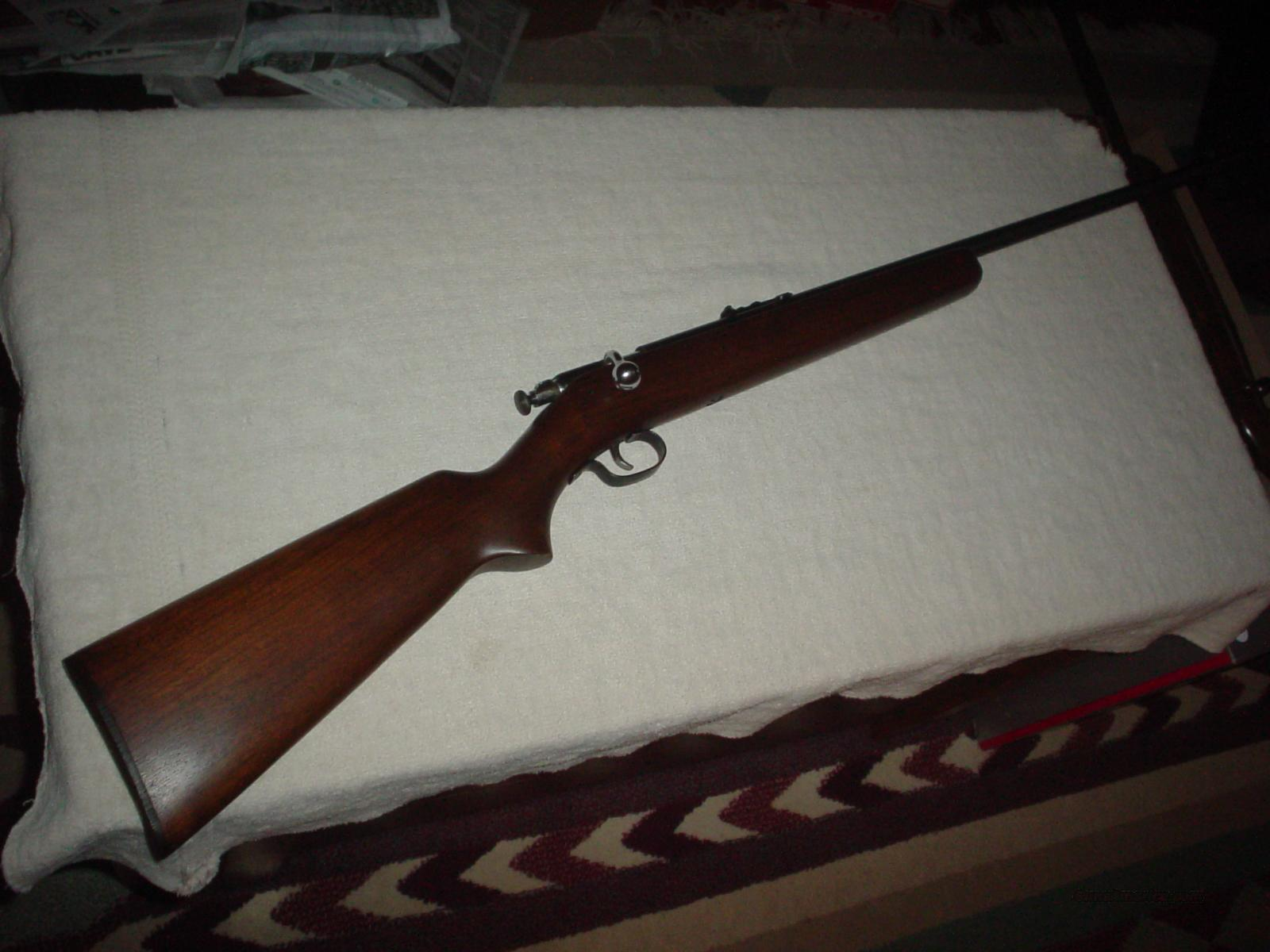 Winchester model 67 22 bolt 98%  Guns > Rifles > Winchester Rifles - Modern Bolt/Auto/Single > Single Shot