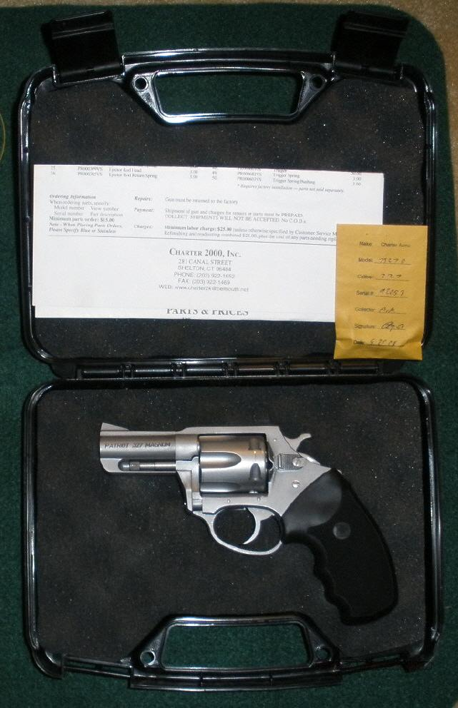 "Charter Arms Patriot, 327 Fed. Mag. 2.2""  Guns > Pistols > Charter Arms Revolvers"