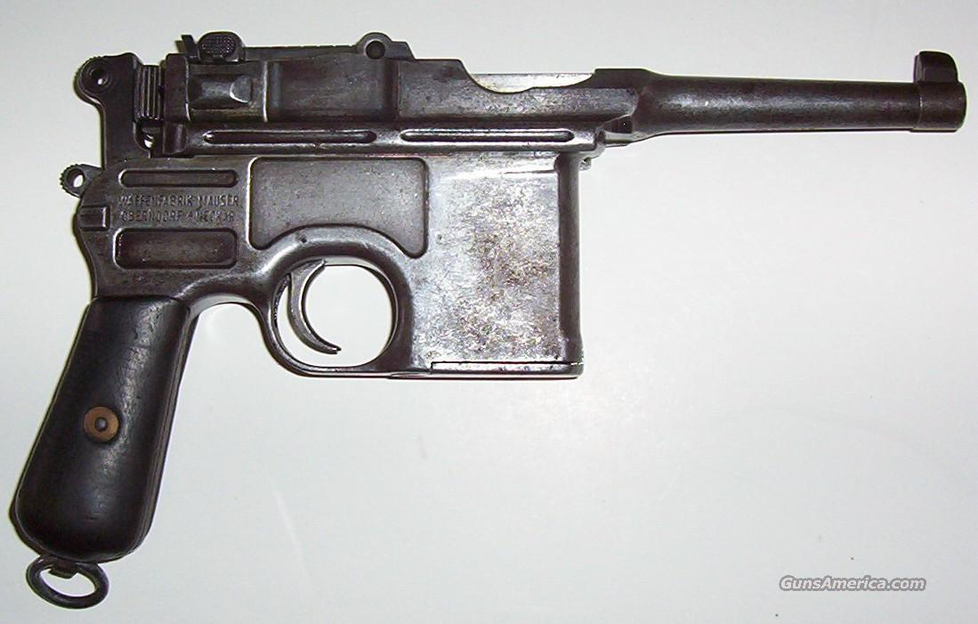 Mauser Broom Handle Pistol  SALE PENDING  Guns > Pistols > Mauser Pistols