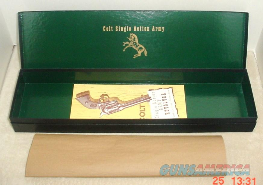 Colt SAA Buntline 2nd Gen Black Box & Paperwork   Non-Guns > Gun Cases