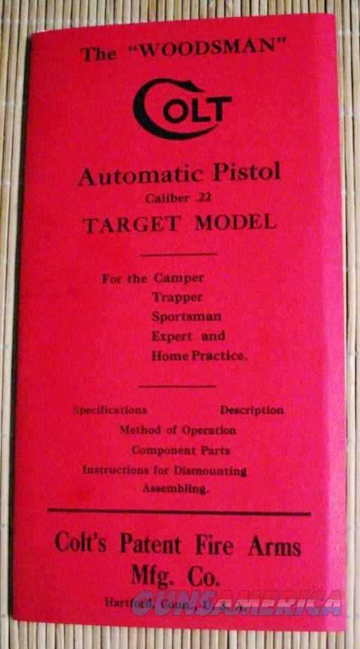 Woodsman First Issue Pre-War Manual Auto & Target  Non-Guns > Manuals - Print