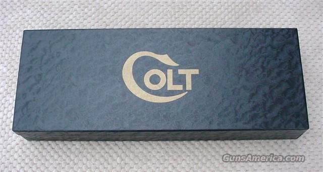 Colt Single Action Army 1950's to late 1969 Black Box (RARE RARE)  Non-Guns > Gun Cases