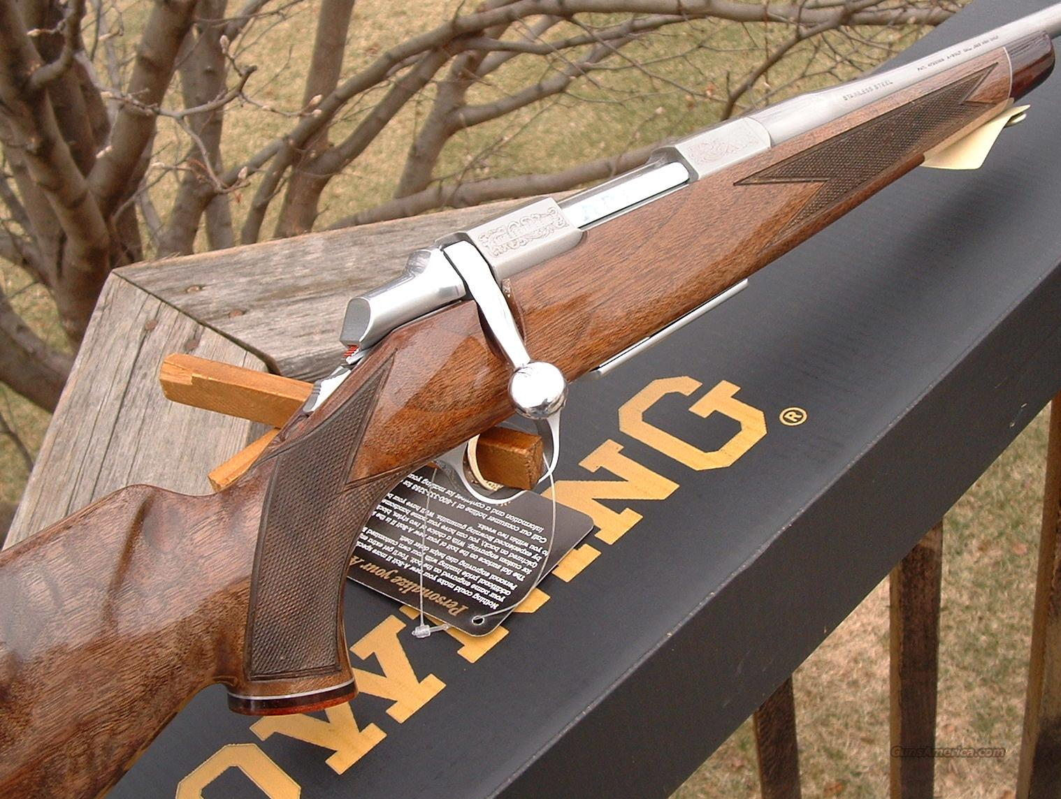 Browning A-Bolt White Gold Medallion RMEF 325 WSM  Guns > Rifles > Browning Rifles > Bolt Action > Hunting > Stainless