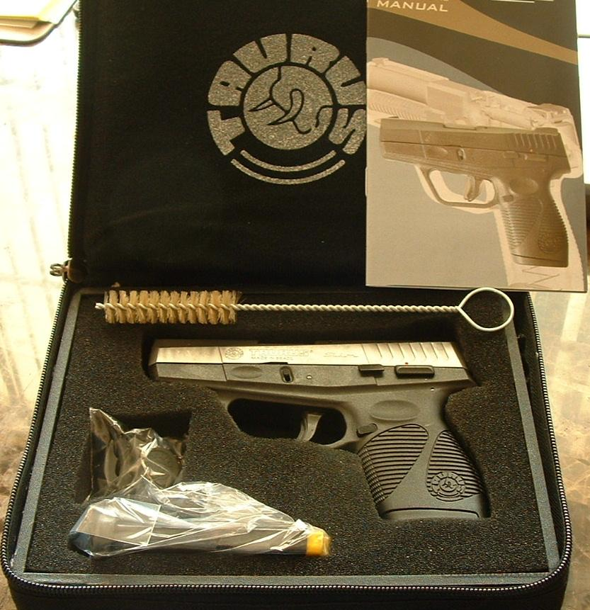 Taurus 709 SLIM SUB-COMPACT STAINLESS w/ BULLDOG Case  9mm     New!      LAYAWAY OPTION   1709039BD  Guns > Pistols > Taurus Pistols > Semi Auto Pistols > Polymer Frame