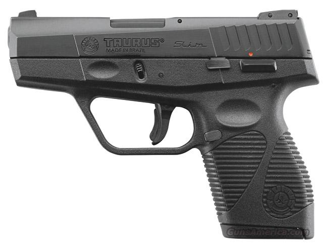 Taurus 740 Slim Black 40 S&W cal.  New!  LAYAWAY OPTION  1740031  Guns > Pistols > Taurus Pistols > Semi Auto Pistols > Polymer Frame