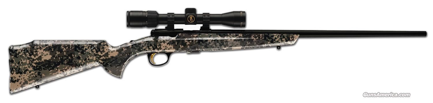 Ltd Edition Browning T-Bolt Sporter Digital CAMO 22 LR New!  Guns > Rifles > Browning Rifles > Bolt Action > Hunting > Blue