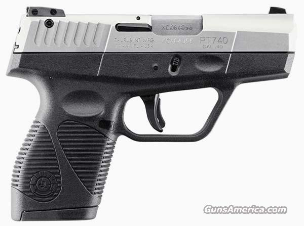 Taurus PT740 Slim Stainless 40 S&W   New!  LAYAWAY OPTION    1740039  Guns > Pistols > Taurus Pistols > Semi Auto Pistols > Polymer Frame