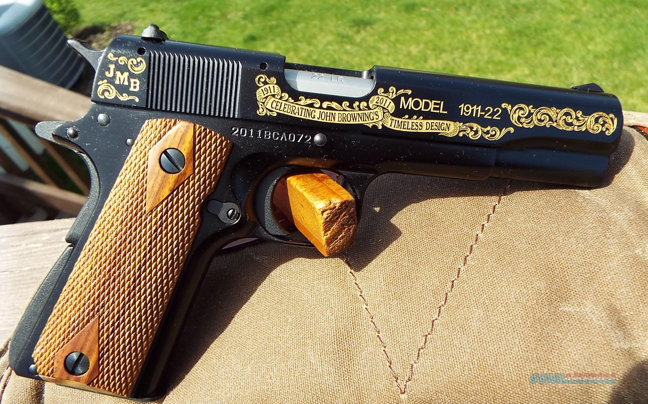 Browning 1911-22 Browning Collector Assoc. Ltd Edition BCA #72  New!  LAYAWAY OPTION  051805490  Guns > Pistols > Browning Pistols > Other Autos