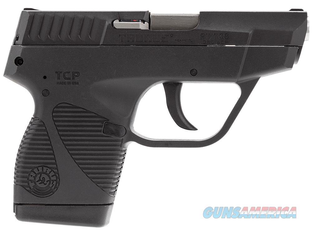 Taurus 738 TCP Black   380 ACP    New!     LAYAWAY OPTION    1738031FS  Guns > Pistols > Taurus Pistols > Semi Auto Pistols > Polymer Frame