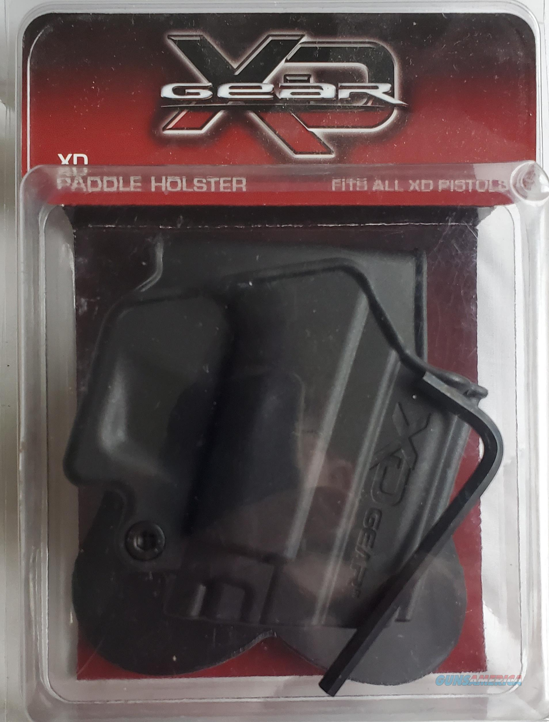 Springfield XD Gear Paddle Holster Black   NEW!   XD3500PH1  Non-Guns > Holsters and Gunleather > Concealed Carry