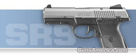 Ruger SR9 Stainless 9mm pistol   New!    LAYAWAY OPTION   3301  Guns > Pistols > Ruger Semi-Auto Pistols > SR Family > SR9