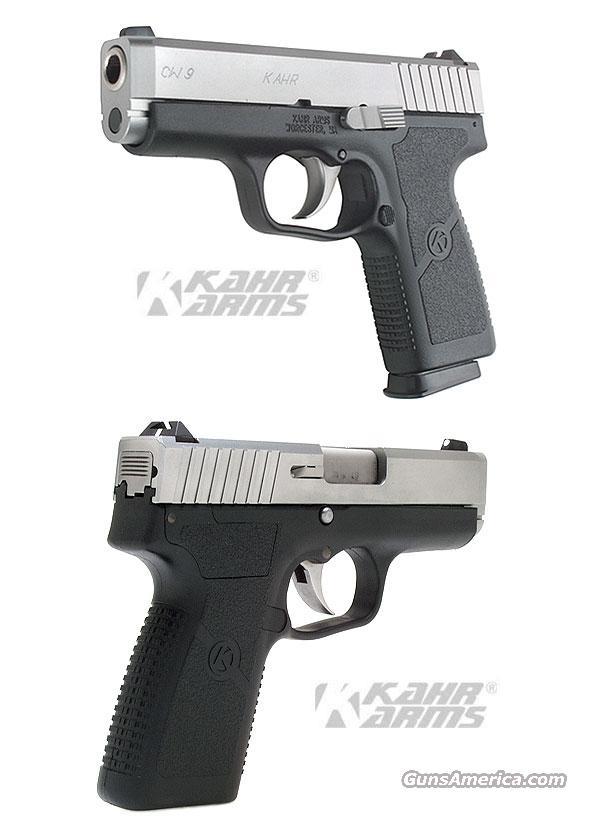 Kahr CW9 Compact Stainless      9mm      New!      LAYAWAY OPTION     CW9093  Guns > Pistols > Kahr Pistols