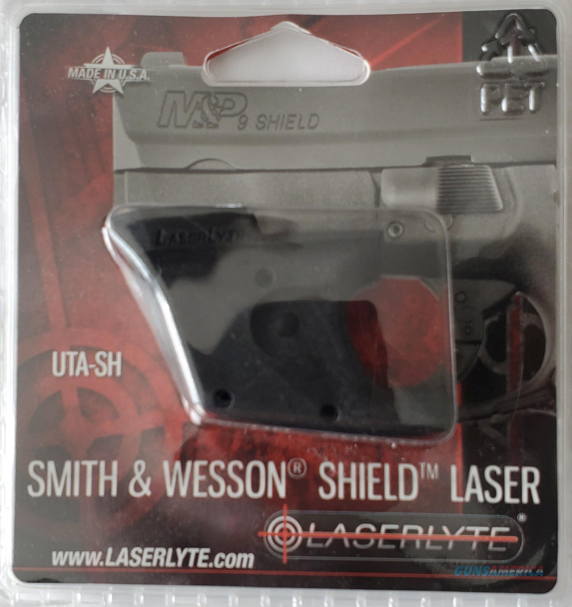 LaserLyte LASER SIGHT Smith & Wesson M&P Shield  NEW!   UTA-SH  Non-Guns > Scopes/Mounts/Rings & Optics > Non-Scope Optics > Other