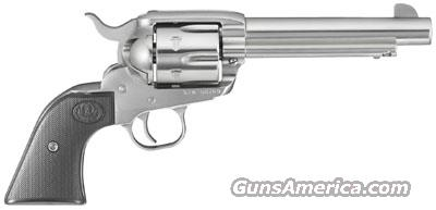 Ruger New Vaquero STAINLESS 45 Long Colt New!    LAYAWAY OPTION   5104  Guns > Pistols > Ruger Single Action Revolvers > Cowboy Action