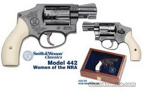Sw S Amp W 442 Women Of Nra 38 Engraved Amp Case New For Sale