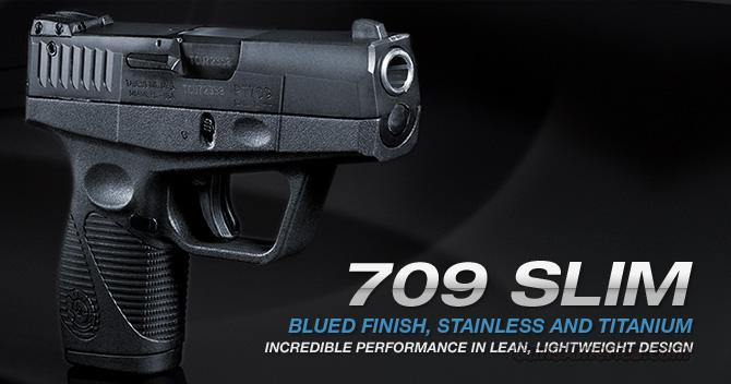 Taurus 709 SLIM COMPACT Black      9mm     New!     LAYAWAY OPTION    1709031   Guns > Pistols > Taurus Pistols > Semi Auto Pistols > Polymer Frame