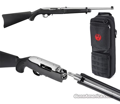 Ruger 10/22 TAKEDOWN Stainless + Backpack  22 LR    New!    LAYAWAY OPTION    11100  Guns > Rifles > Ruger Rifles > 10-22