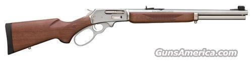 Ltd. Edition Marlin 1895 STBL Stainless Large LOOP 45-70 Govt Barrel Marked SBL  Guns > Rifles > Marlin Rifles > Modern > Lever Action