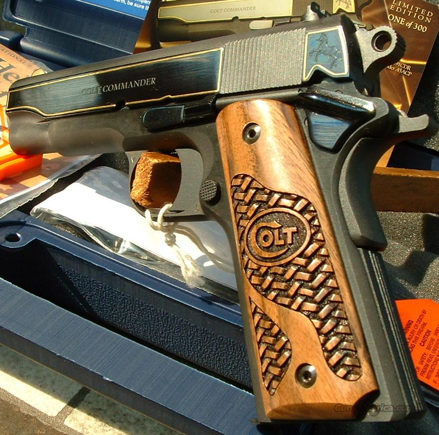 Ltd. Edition Colt 1911 COMMANDER GOLD EDITION Talo  45 ACP  New!  O4691CDR  Guns > Pistols > Colt Automatic Pistols (1911 & Var)