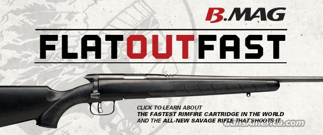 Savage B.MAG AccuTriger    17 Win. Super Mag.    New!     LAYAWAY OPTION   96901   BMAG     B-MAG    17 WSM  Guns > Rifles > Savage Rifles > Accutrigger Models > Sporting