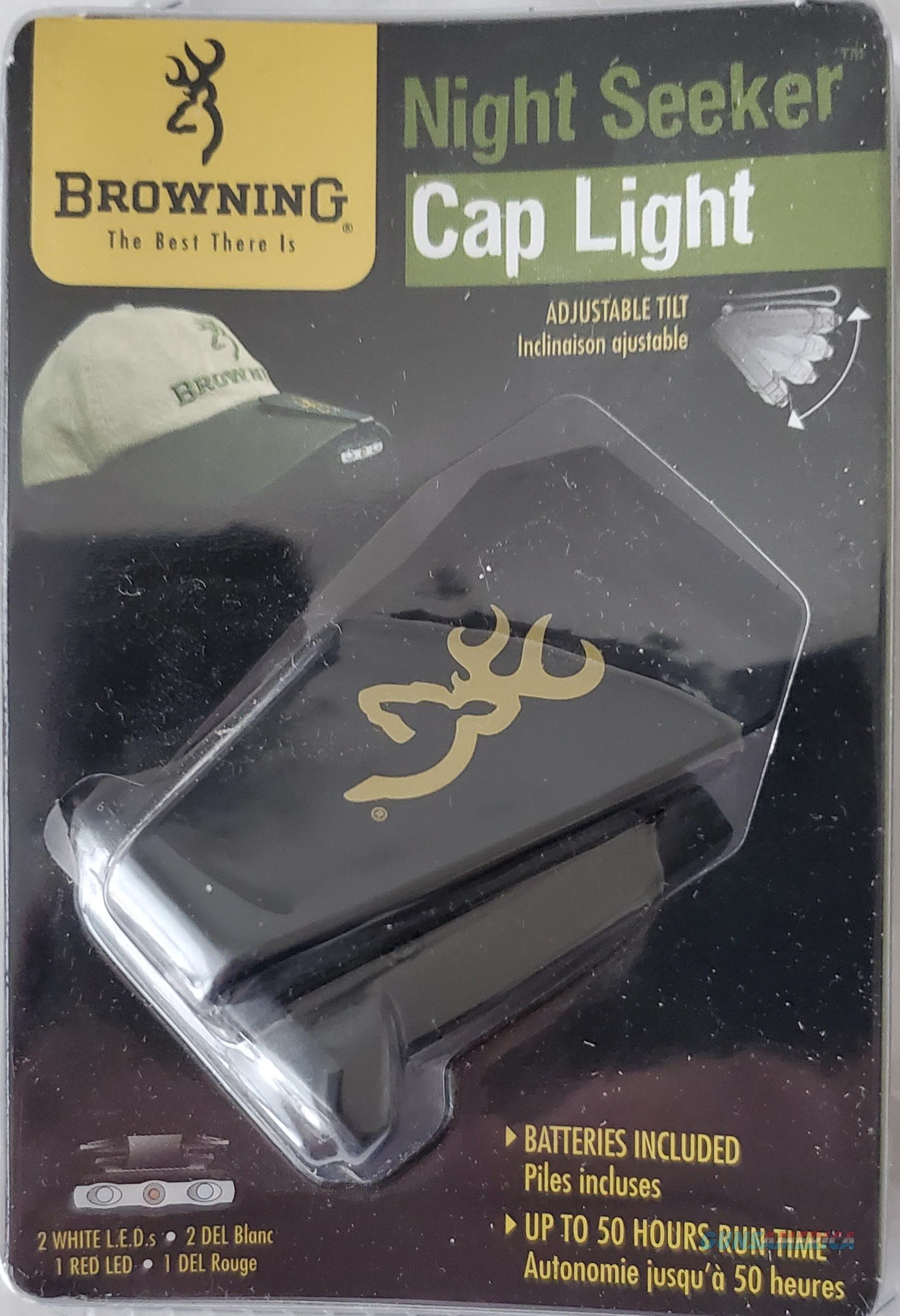 Browning Night Seeker White/Red LED Adjustable Cap Light  NEW!    Non-Guns > Lights > Other