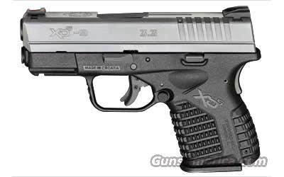 Springfield XDS Compact Bi-Tone SS   9mm   New!    LAYAWAY OPTION    XDS9339S  Guns > Pistols > Springfield Armory Pistols > XD-S