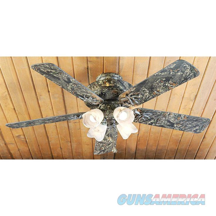 Mossy Oak Buckhead Ceiling Fan MOBU Camo w/ Light  New!  LAYAWAY OPTION   61543  Non-Guns > Lights > Other