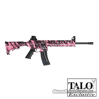 SMITH & WESSON M&P15-22 MOE Pink Platinum Camo  22 LR  NEW!    LAYAWAY OPTION    811051  Guns > Rifles > Smith & Wesson Rifles > M&P