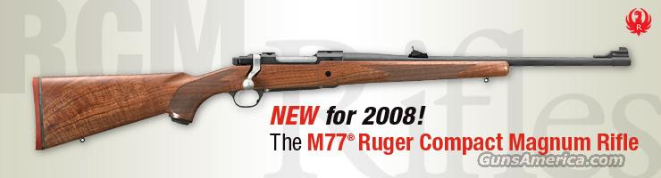 Ruger 77 Hawkeye Ruger Compact Magnum 338 RCM cal. New!  Guns > Rifles > Ruger Rifles > Model 77