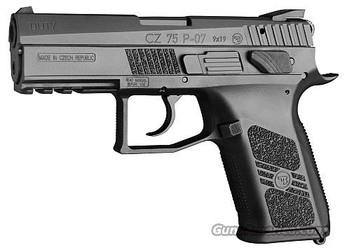 CZ 75 P-O7 Duty Compact   9mm 16 + 1   New!    LAYAWAY OPTION       P07      91186  Guns > Pistols > CZ Pistols
