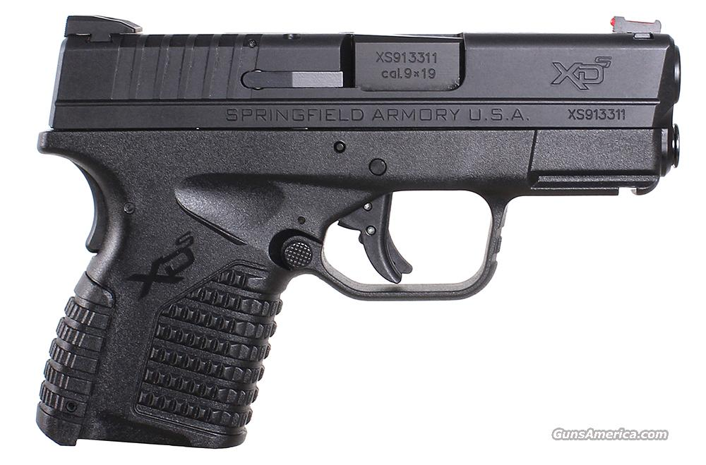 Springfield XDS Compact Black 9mm  New!   LAYAWAY OPTION   XDS9339B  Guns > Pistols > Springfield Armory Pistols > XD-S