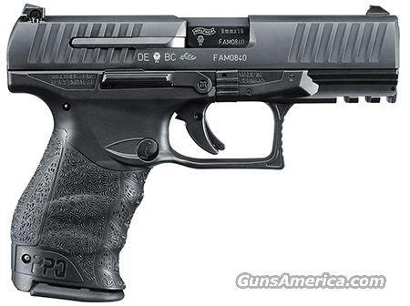 Walther PPQ M2 black    9mm     New!    LAYAWAY OPTION    2796066  Guns > Pistols > Walther Pistols > Post WWII > P99/PPQ