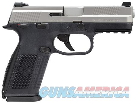 FN FNS-9 Stainless    9mm    New!     LAYAWAY OPTION     66926  Guns > Pistols > FNH - Fabrique Nationale (FN) Pistols > FNP