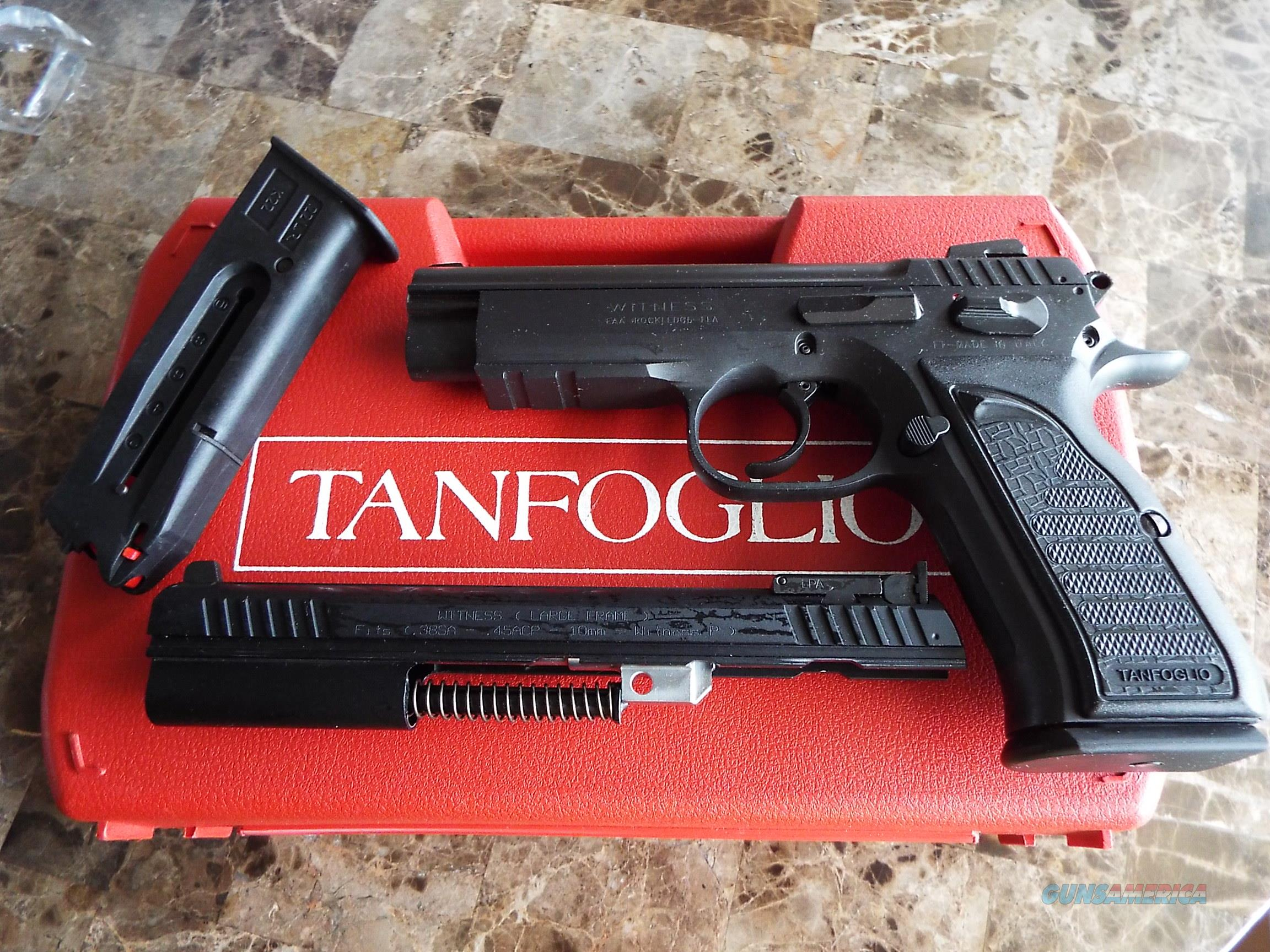 EAA WITNESS Steel FS 45 ACP w/ CONVERSION 22 LR Kit  New!  LAYAWAY OPTION  999119  Guns > Pistols > EAA Pistols > Other