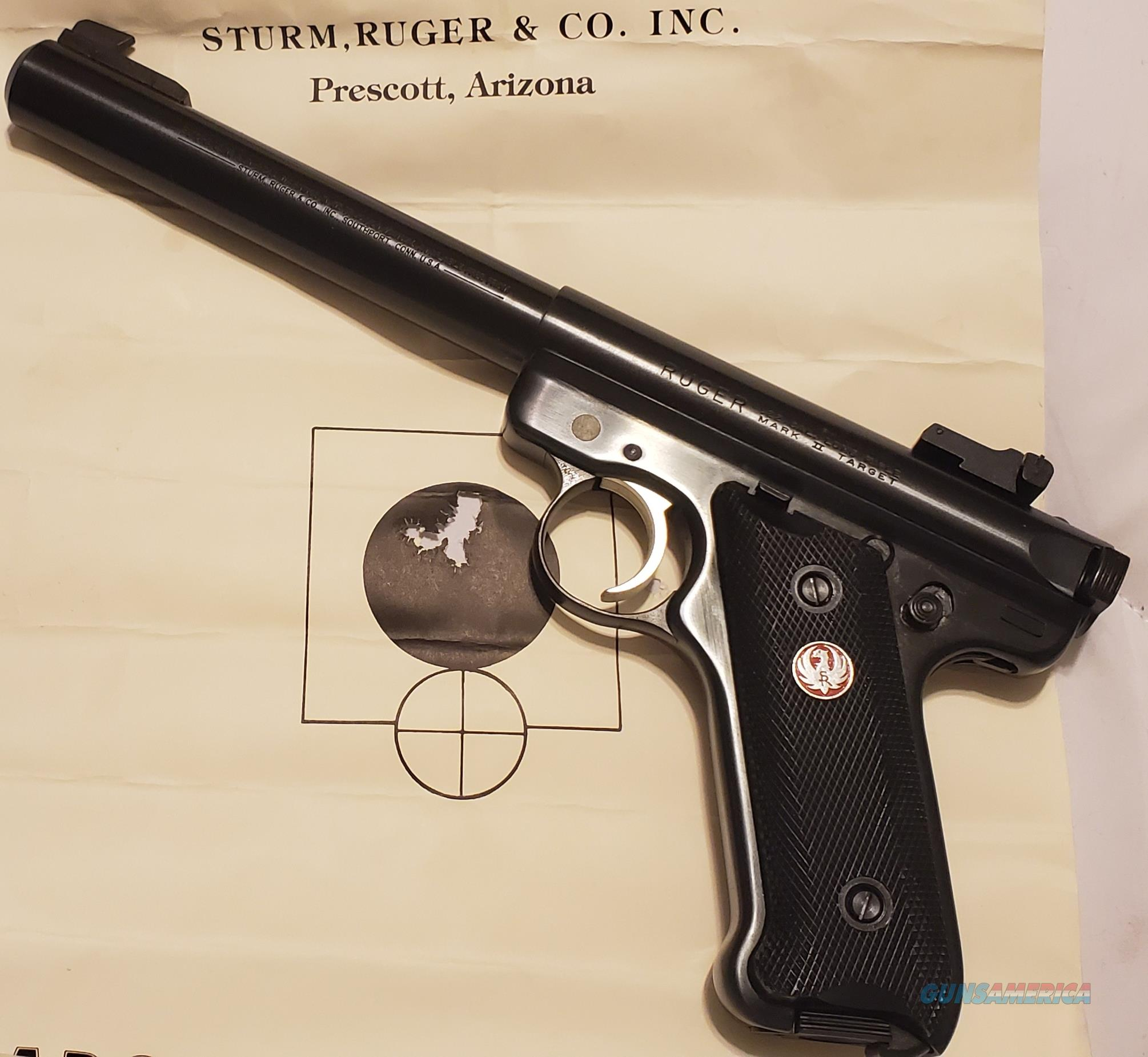 """Ruger MKII Government Target Model 6 7/8"""" BULL 22 LR  New!  LAYAWAY OPTION  00175  Guns > Pistols > Ruger Semi-Auto Pistols > Mark I/II/III/IV Family"""