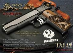 Ltd. Edition Ruger SR1911 NAVY SEALS Talo 45 ACP New!  LAYAWAY OPTION     6703   Guns > Pistols > Ruger Semi-Auto Pistols > 1911