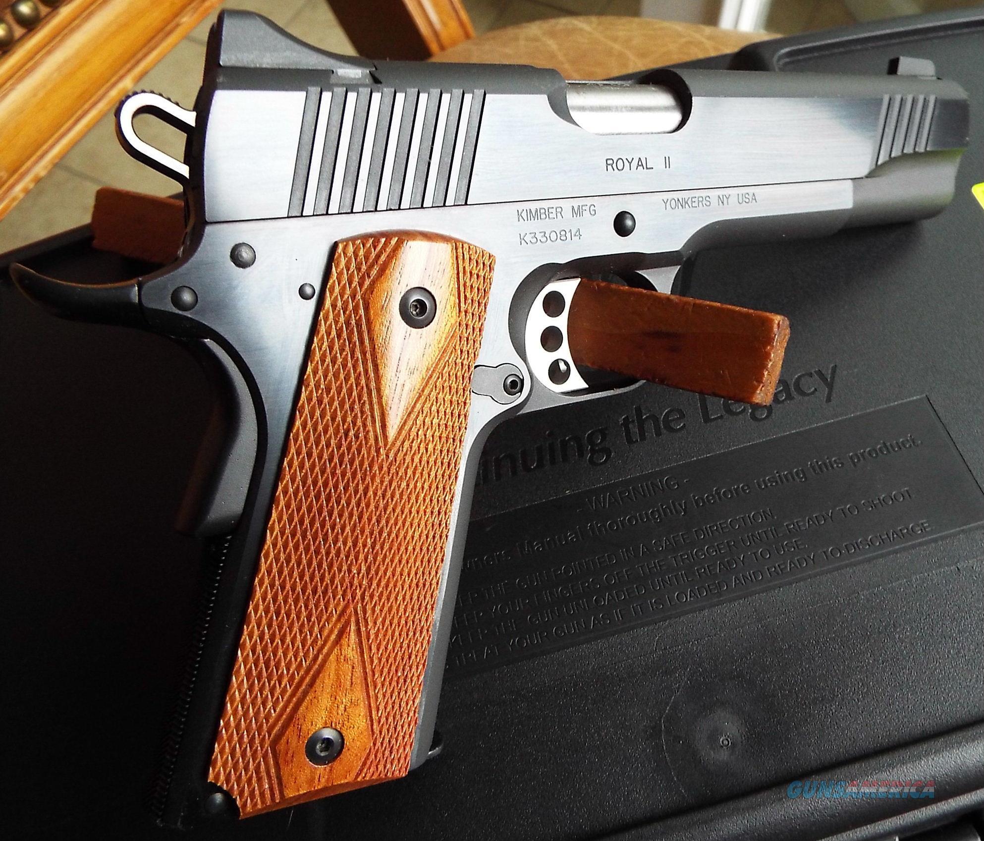Kimber ROYAL II  1911 45 ACP  Like New!  LAYAWAY OPTION  320052  Guns > Pistols > Kimber of America Pistols > 1911