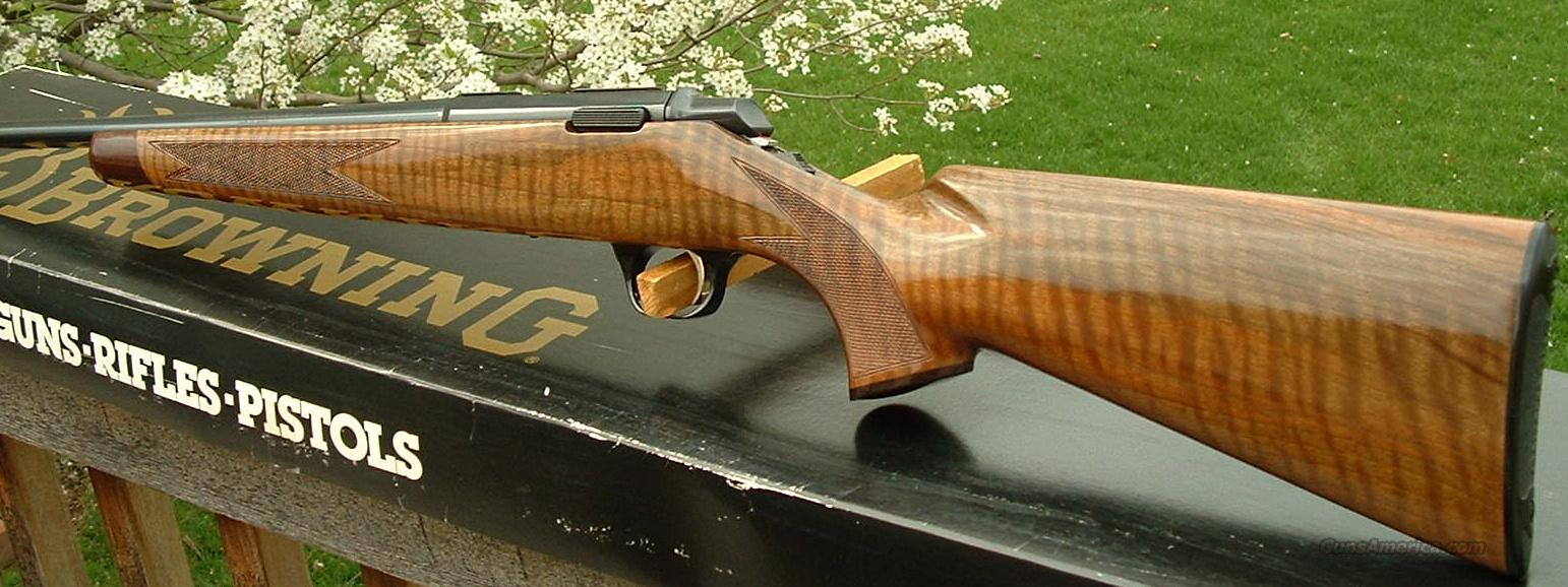 Browning A-Bolt Grade I Rimfire 22 LR  LNIB  Guns > Rifles > Browning Rifles > Bolt Action > Hunting > Blue