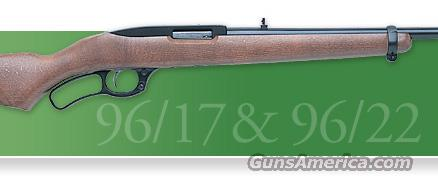 Ruger 96/17 Lever 17 HMR - New!  Guns > Rifles > Ruger Rifles > Lever Action
